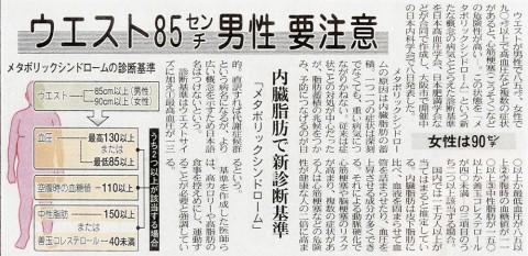 2005年4月9日 中日新聞朝刊掲載